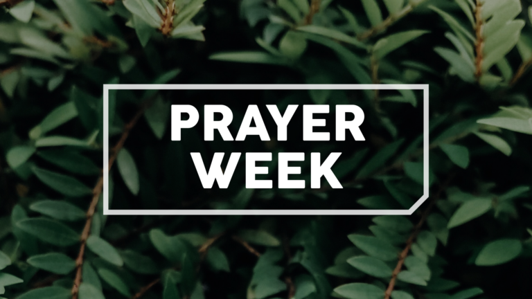 Prayer Week Booklet 2020